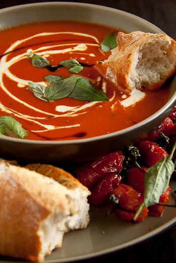 Roast Tomato & Basil soup