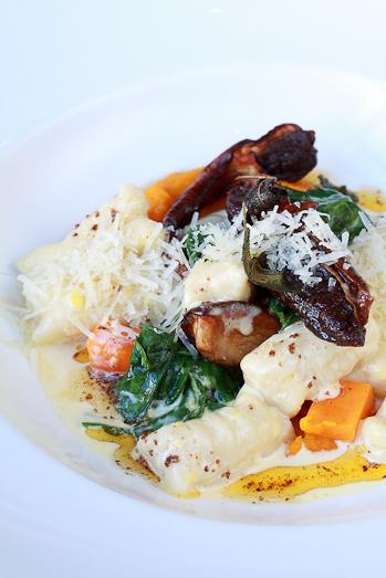 Gnocchi with fried Porcini mushrooms