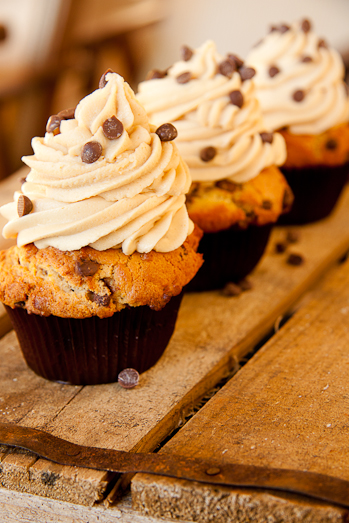Peanut butter-chip Cupcakes