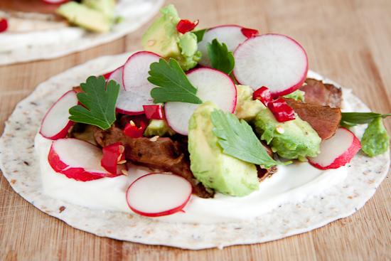 Spicy Steak Tortillas