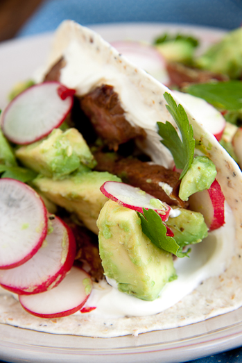 Spicy Steak Tortillas