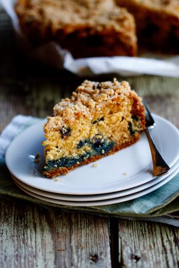 Ina Garten's Blueberry Crumb Cake