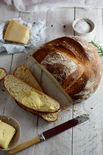 Potato, Pecorino & Rosemary bread - Simply Delicious