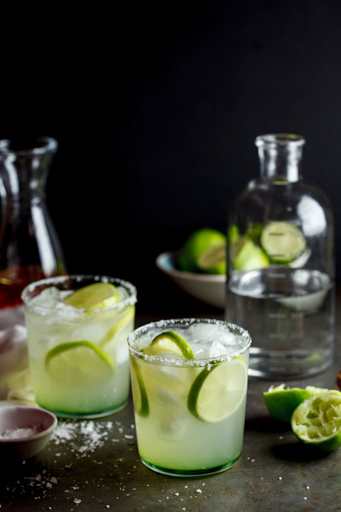 Chilli-infused Margaritas