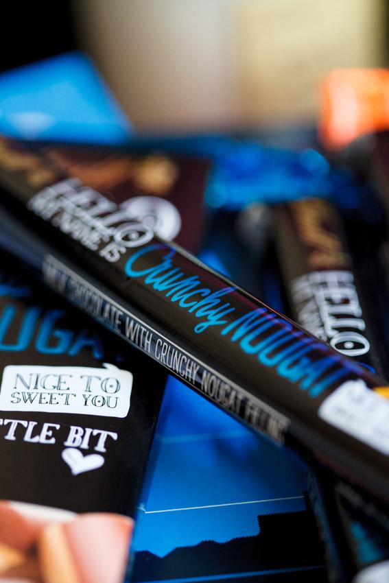 Lindt Crunch Nougat chocolate