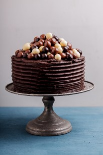 Double coffee chocolate cake with chocolate fudge frosting - Simply ...