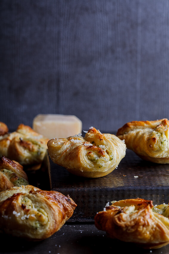 Broccoli cheese puffs