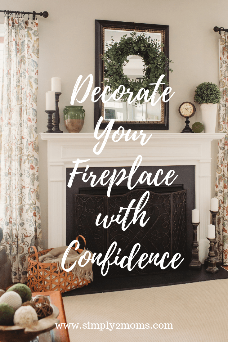 How To Decorate Fireplace How To Decorate Your Fireplace For Spring And Summer Simply2moms