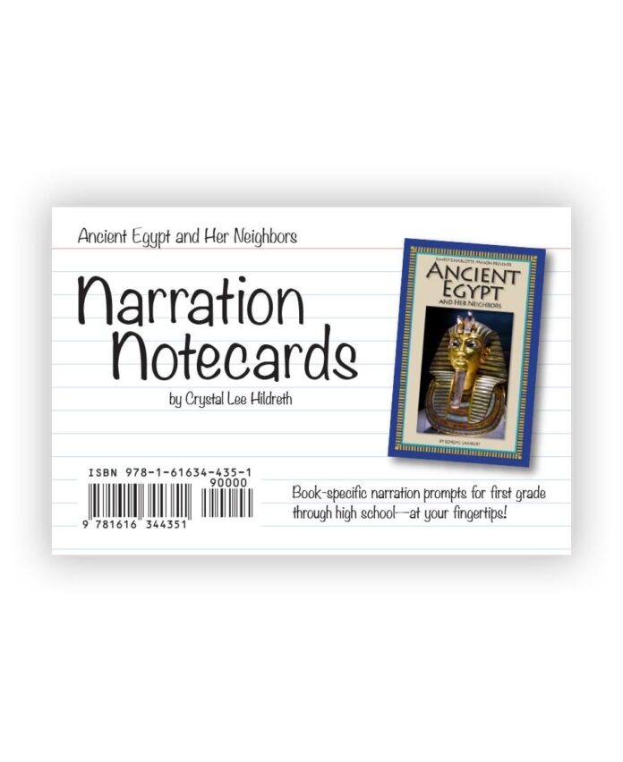 Narration Notecards \u2014 Simply Charlotte Mason