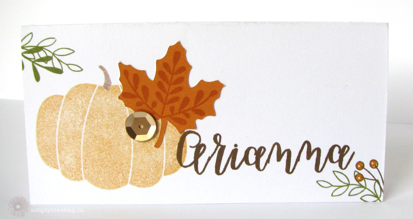 September Stamp of the Month Projects