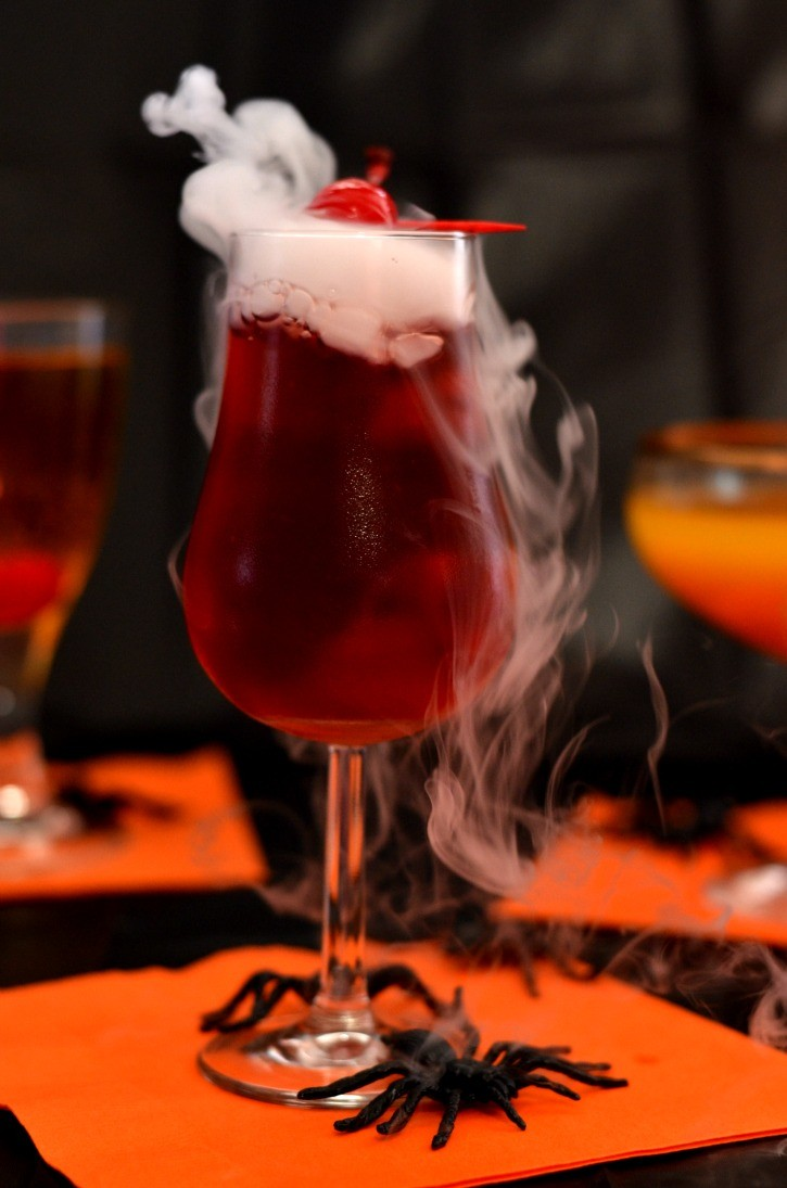 Cocktail Halloween Bloody Vampire
