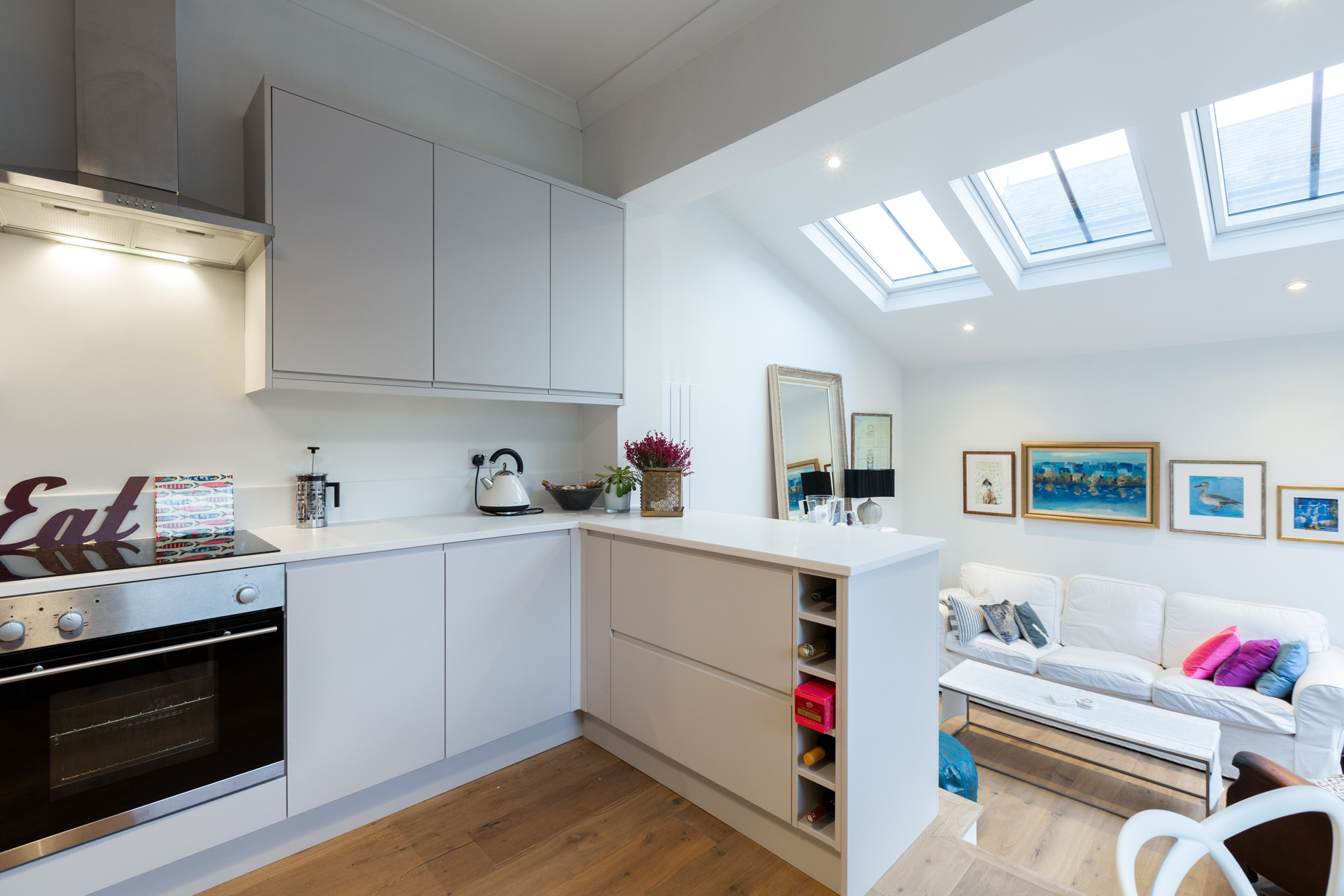 Kitchen Extensions With Velux Windows Home Kitchen Extension Projects In London Simply Extend