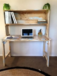 DIY Computer Desk Ideas Space Saving (Awesome Picture)
