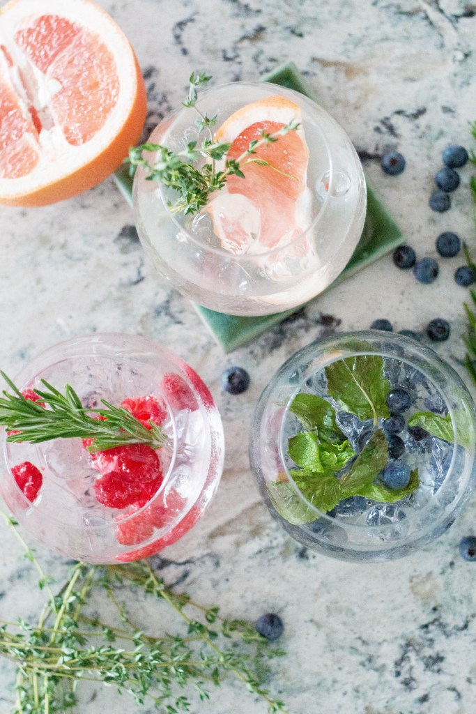 Gin and Tonic 3 Ways