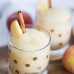 Apple Cider Whiskey Slushie