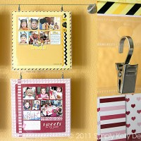 Displaying Art or Scrapbook Layouts