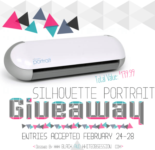 February Silhouette Portrait Group Giveaway | Simply Kelly Designs