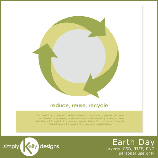 Earth Day Template by Simply Kelly Designs