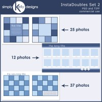 InstaDoubles Template Set 2