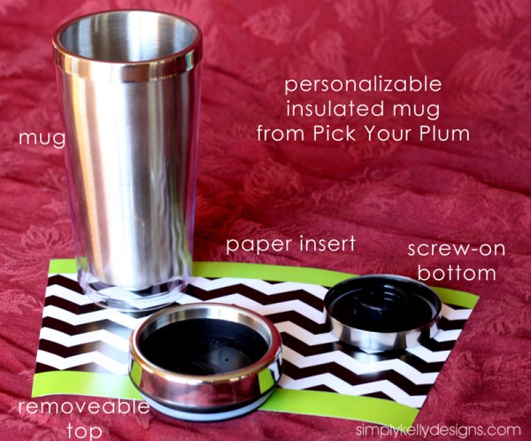 Insulated Mugs from Pick Your Plum - Simply Kelly Designs
