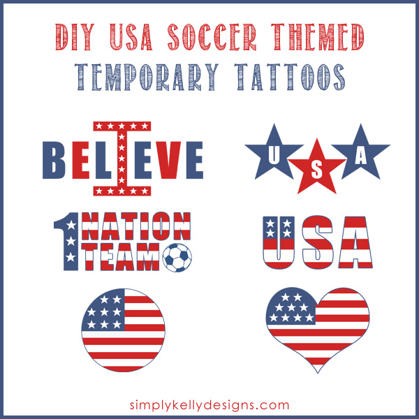 how to create diy temporary tattoos simply kelly designs. Black Bedroom Furniture Sets. Home Design Ideas