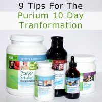 My 9 Tips For The Purium 10 Day Transformation