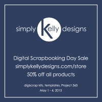 National Scrapbook Day Sale, New Release and Free Template