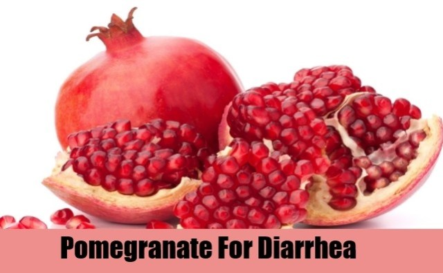 Pomegranate To Stop Diarrhea