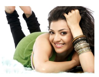sweet kajal HD wall paper