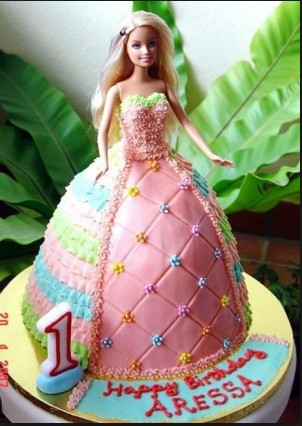 awesome cake barbie doll hd wall paper