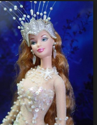 pearl crown barbie doll hd wall paper