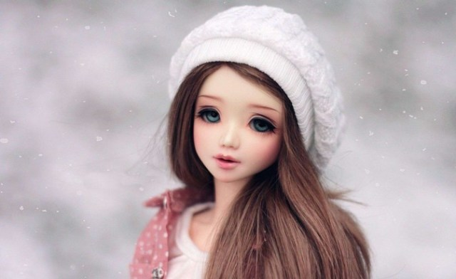 cute barbie doll image