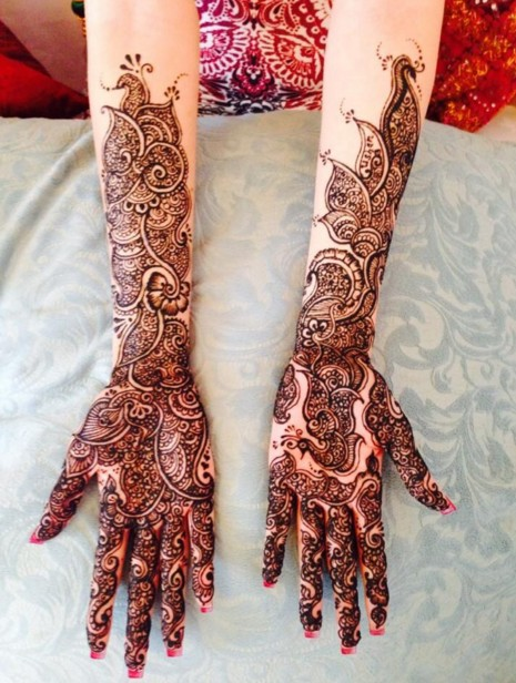 gorgeous mehndi design
