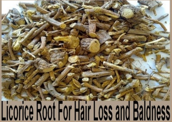 licorice to prevent hair loss