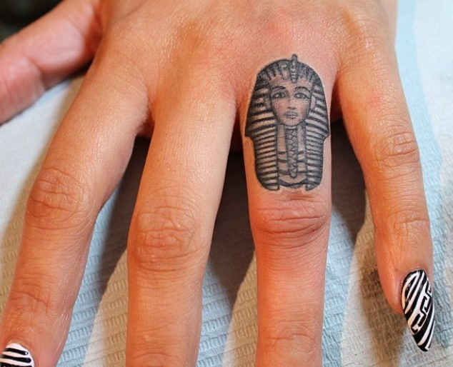 ring egyptian tattoo designs