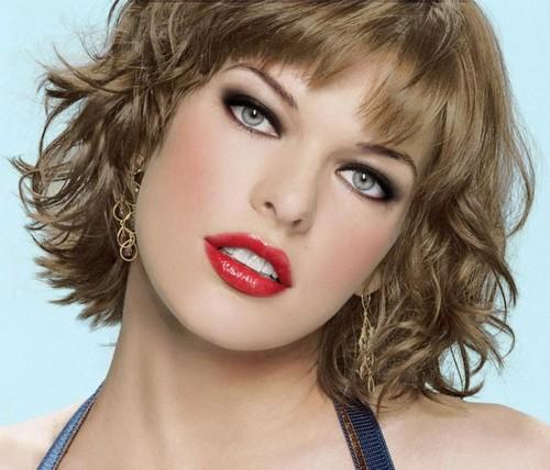 Milla Jovovich beautiful eyes