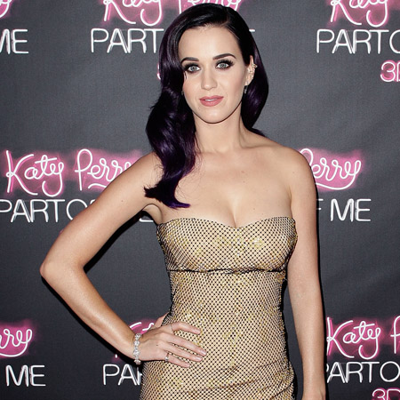 katy perry with make up