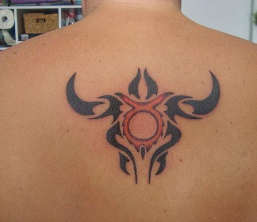 tattoo design for taurus