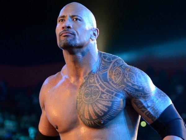 the rock maori tattoo design