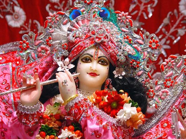lord krishna in pink dress free download