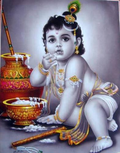 Shri krishna hd wallpaper