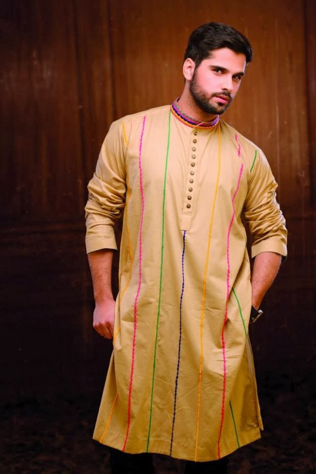 casual wear kurta pyjama for men