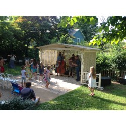 Small Crop Of Backyard Party Shed
