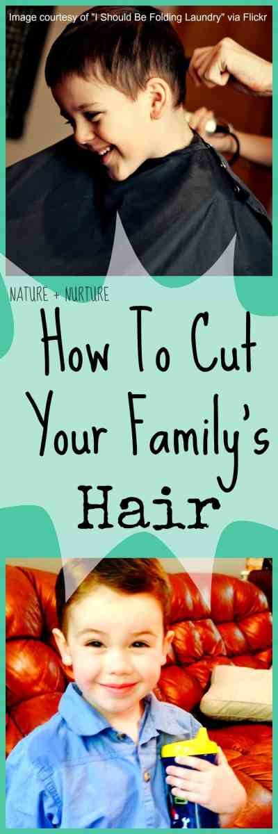 How To Cut Your Own Hair - How To Save Money at Home Part 2