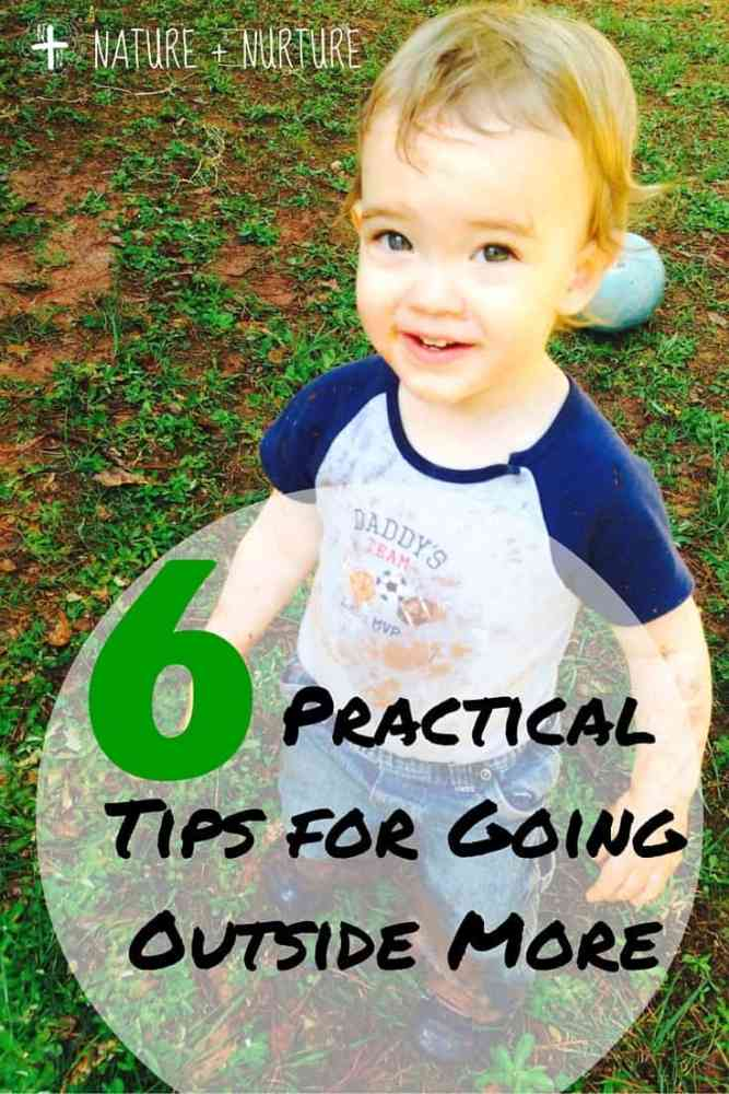 6 Practical Tips for Getting Outside More