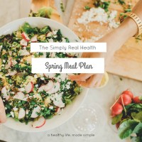 The Spring Meal Plan // Recipe List Released!