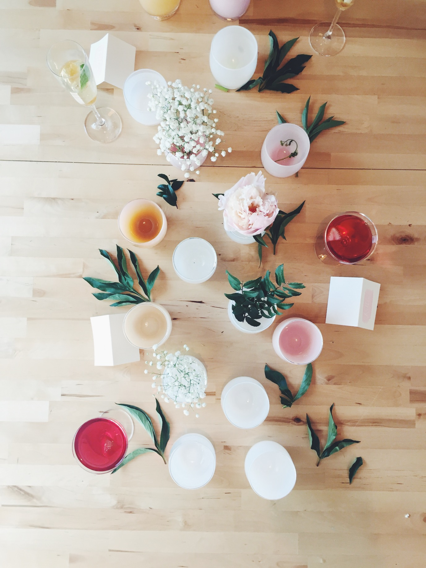 Bridal Shower How-To (and the best drink recipes) via @simplyrealhealth