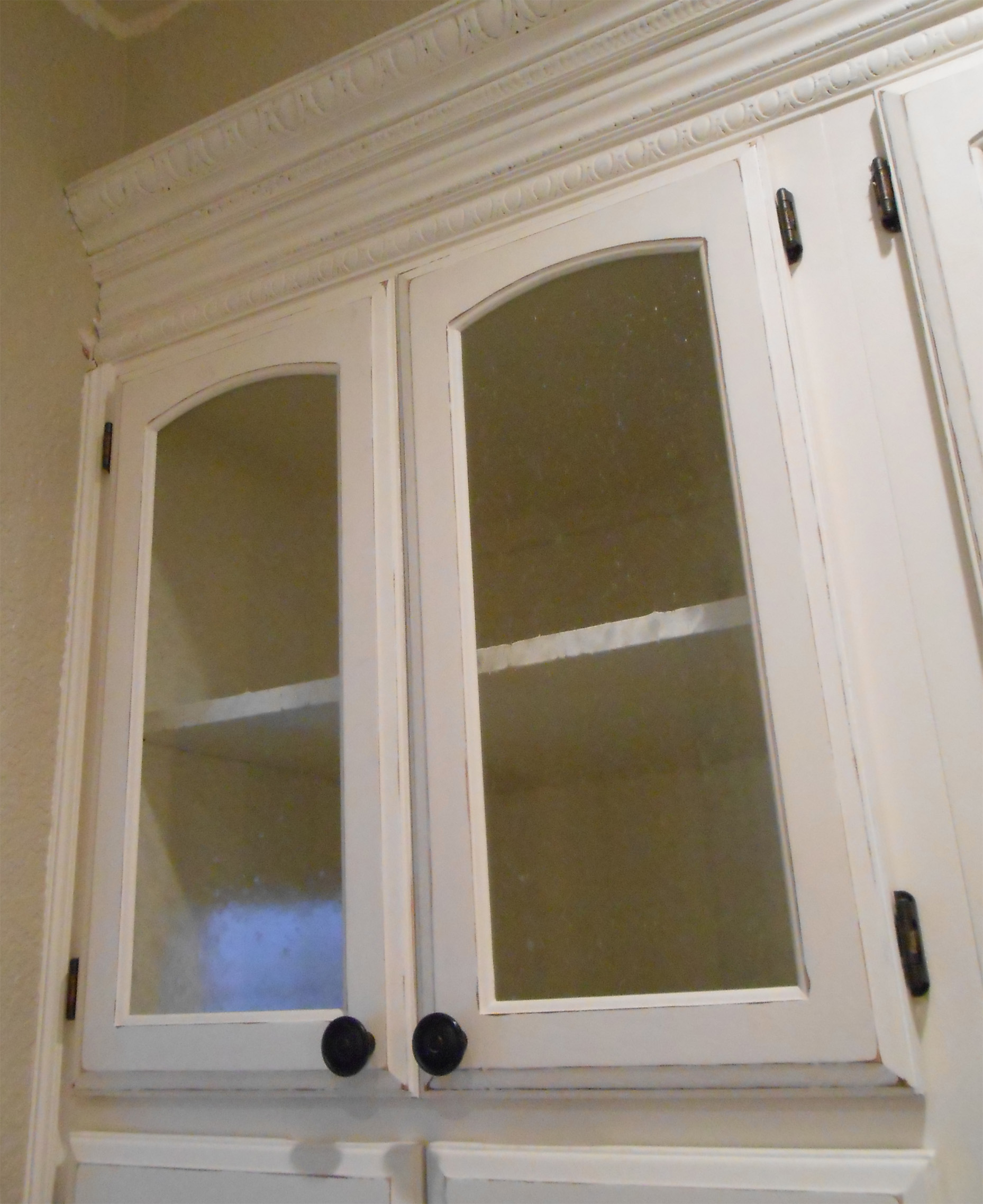 Glass For Kitchen Cabinets Inserts Diy Changing Solid Cabinet Doors To Glass Inserts Simply