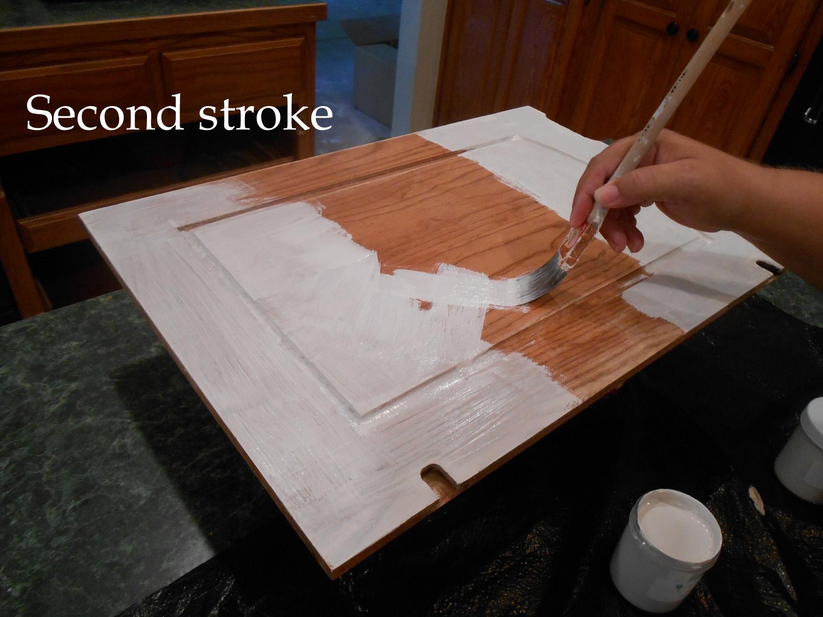 2 chalk paint kitchen cabinets Applying Chalk Paint