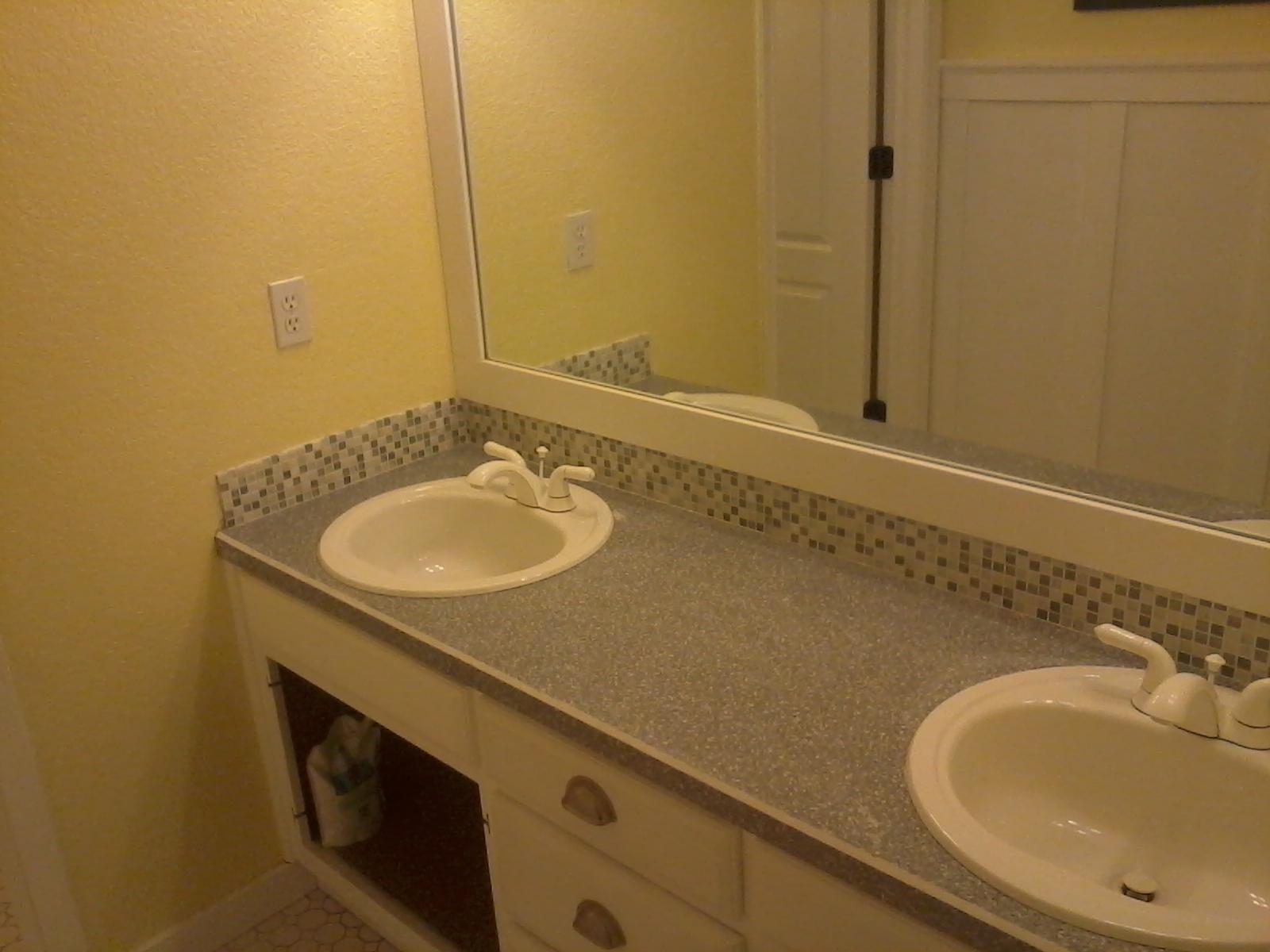 mosaic tile for bathroom backsplash  Front Porch Cozy